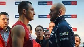 Britain's controversial world heavyweight champion Tyson Fury's title