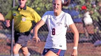 South Side's Alexandra McNicholas watches her second of