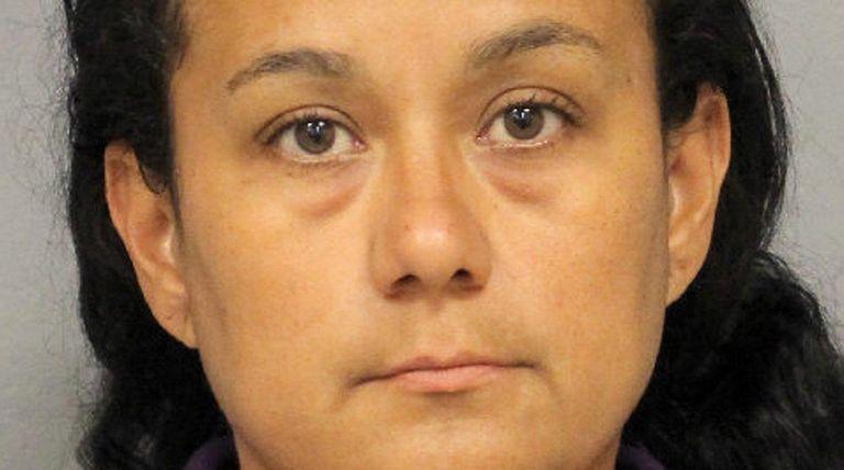 Yessenia Alongi, 37, of Massapequa, was arrested Friday,