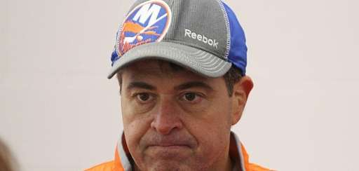 Head coach of the New York Islanders Jack