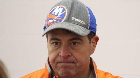 Head coach of the New York Islanders Jack