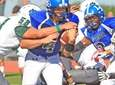 Long Beach quarterback Sam Brown runs for a