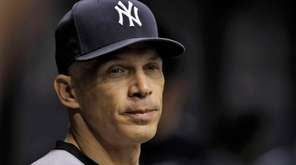 Joe Girardi on Sept. 21, 2016.