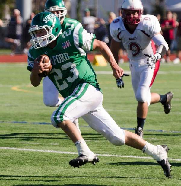 Seaford's Danny Roell rushed for 179 yards and