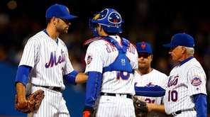 Sean Gilmartin #36 of the New York Mets