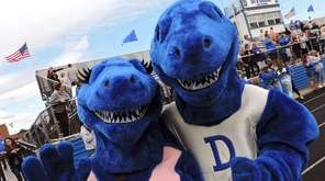The Division Avenue High School mascots, Lady Blue