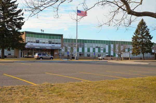Wyandanch Memorial High School is pictured here in