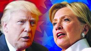 Donald Trump and Hillary Clinton will face off