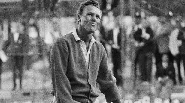 Arnold Palmer responds in the usual Palmer manner