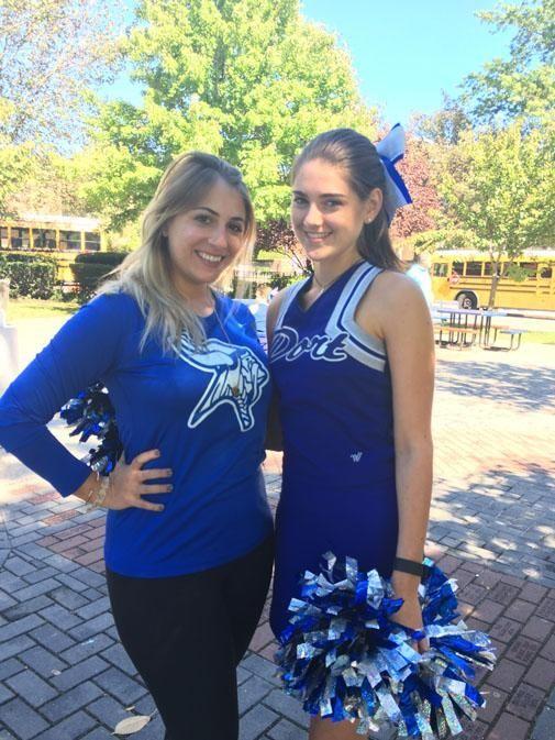 Paul D. Schreiber High School cheerleading coach Nataly