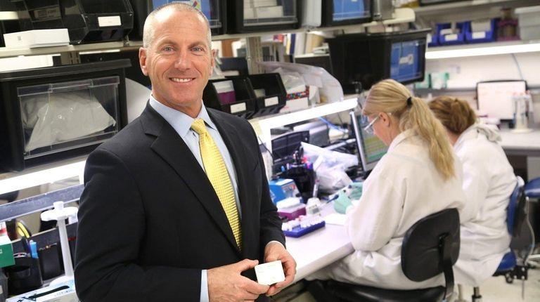 John J. Sperzel, CEO of Chembio Diagnostics in