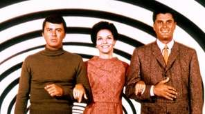 James Darren, left, Lee Meriwether and Robert Colbert