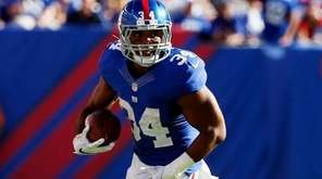Shane Vereen #34 of the New York Giants