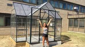 Senior Christina Capobianco raised fund for this greenhous
