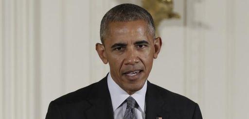 President Barack Obama speaks in the East Room