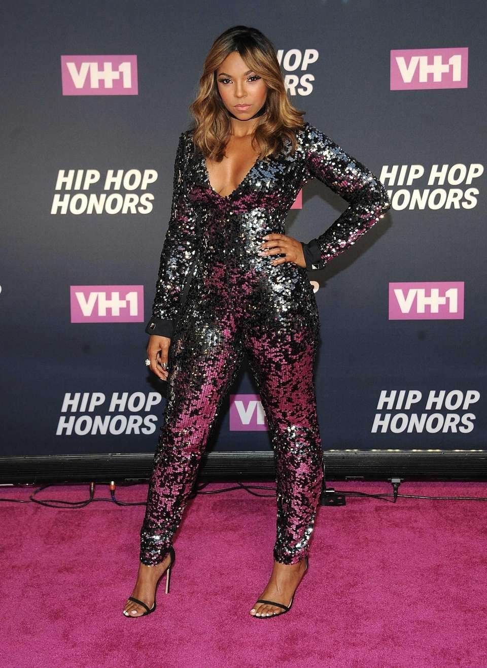 Ashanti attends VH1's Hip Hop Honors at David