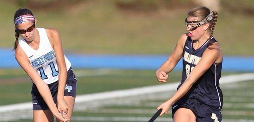 Rocky Point's Haley Clark (11) looks to pass