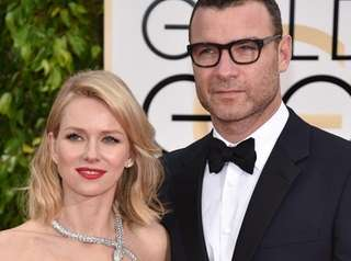 Naomi Watts and Liev Schreiber at the 2015