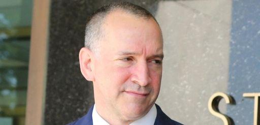 Adam Haber outside court in Mineola on Thursday,