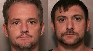 Daniel J. Barberis, 40, left, and Daniel P.