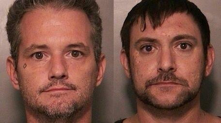 Daniel J. Barberis, 40, left, and Daniel P.