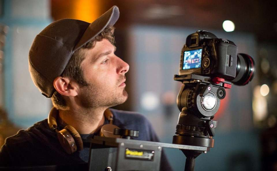 Jeffrey Basinger films the music video for Oak