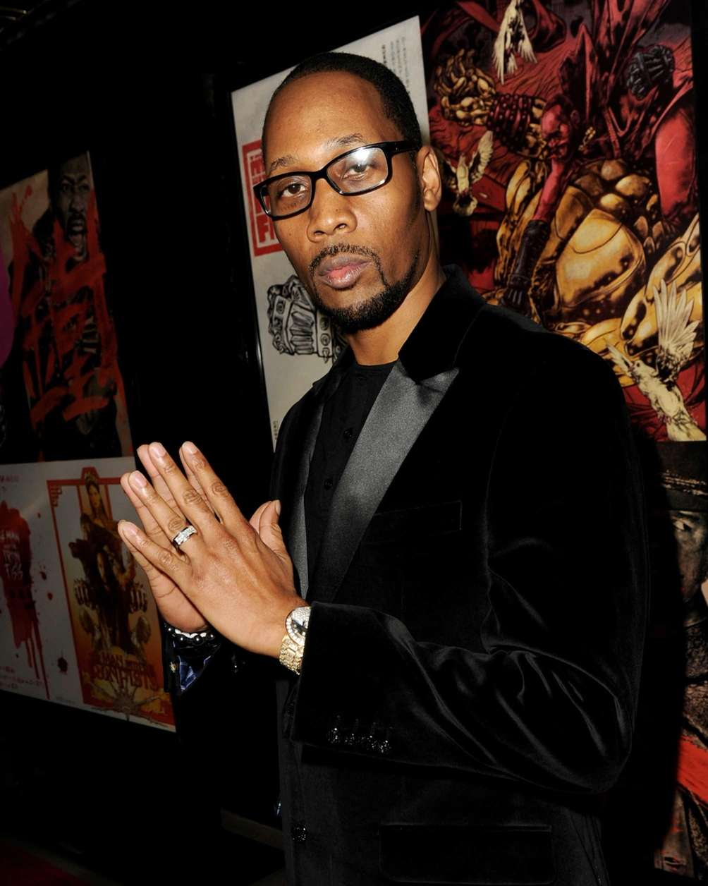 Actor-director and Wu-Tang Clan rapper RZA, who says