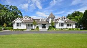 This Sands Point Colonial, listed for $13.25 million,