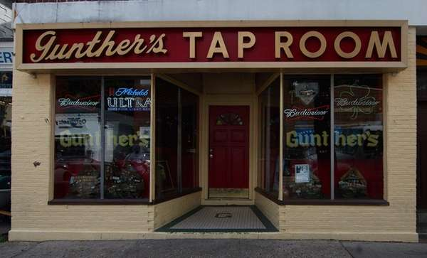 An exterior view of Gunther's in Northport, Sept.