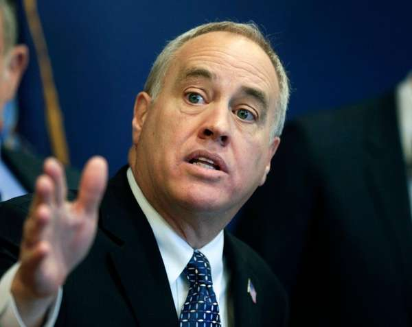 New York State Comptroller Thomas DiNapoli is seen