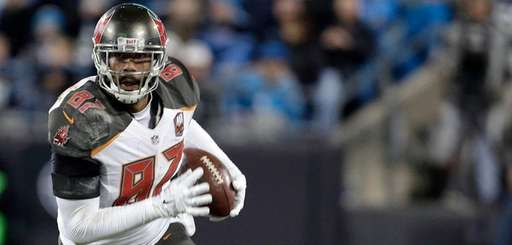 Former Tampa Bay Buccaneers' tight-end Austin Seferian-Jenkins, now
