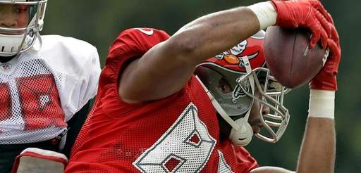 Former Tampa Bay Buccaneers' tight-end Austin Seferian-Jenkins makes