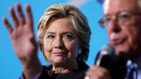 Hillary Clinton is on the stump with Bernie