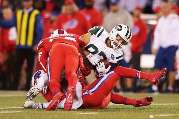 Eric Decker of the New York Jets