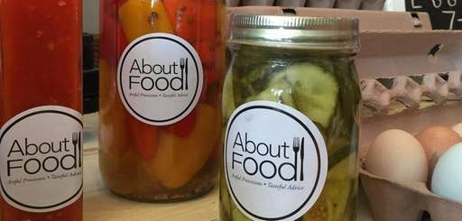 About Food in Southold specializes in preserves made