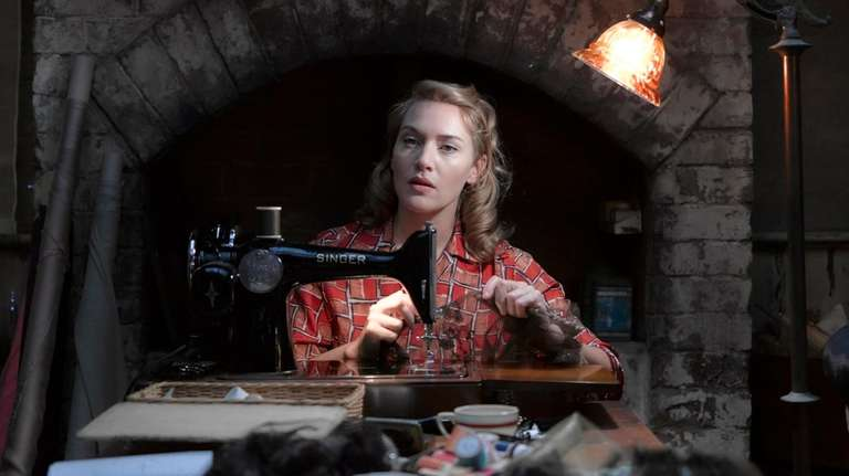 Kate Winslet is a high-end seamstress in