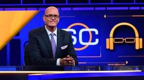Scott Van Pelt on the set of ESPN's