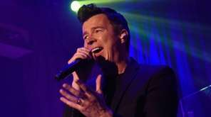 Rick Astley rolled to the big time with