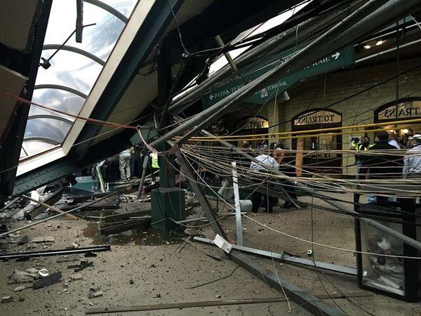 Investigators looking into the crash of a train