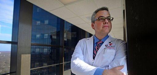 Dr. Joshua Miller, who has type 1 diabetes