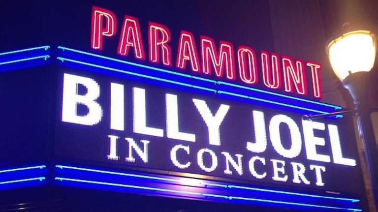 After rehearsing there for his European tour, Billy