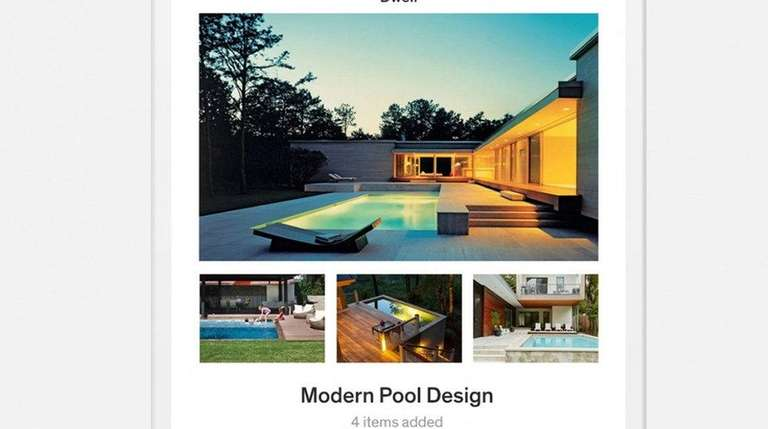 Dwell magazine has a new app that allow