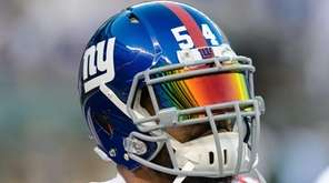 New York Giants defensive end Olivier Vernon during