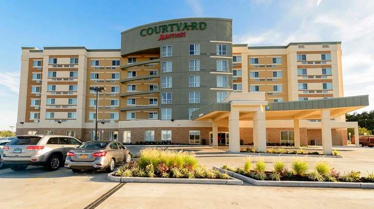 The Courtyard by Marriott in Westbury on Sept.