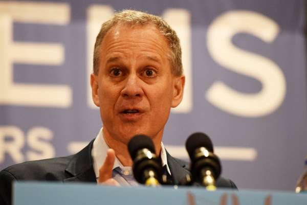 New York Attorney General Eric T. Schneiderman on
