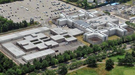 Nassau County Jail in East Meadow is seen