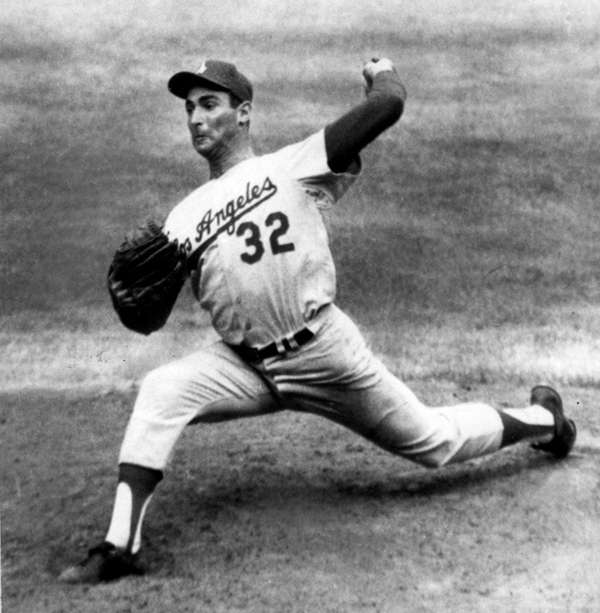 Sandy Koufax threw a league-leading 335.2 innings the
