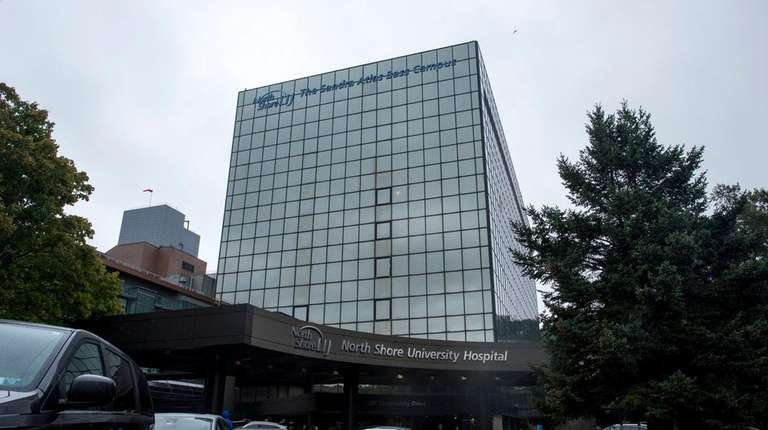 North Shore University Hospital in Manhasset, seen on