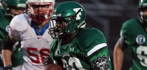 Farmingdale's Jordan McClune finds running room on the