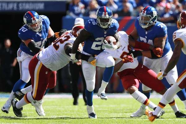 Giants' injury report, 10/1: DRC, Jennings given 50-50 chance to play